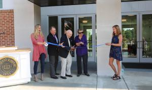 new dorm ribbon cutting ceremony