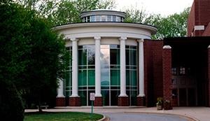 front of porter center