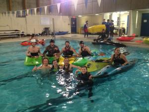 paddling club clinic