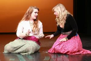 opera students on stage