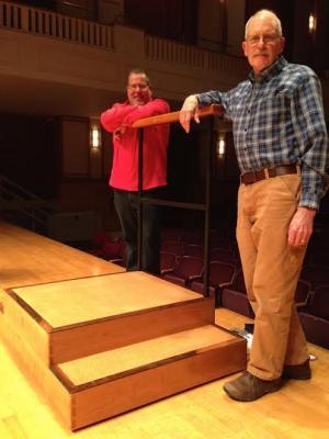 new conductors podium