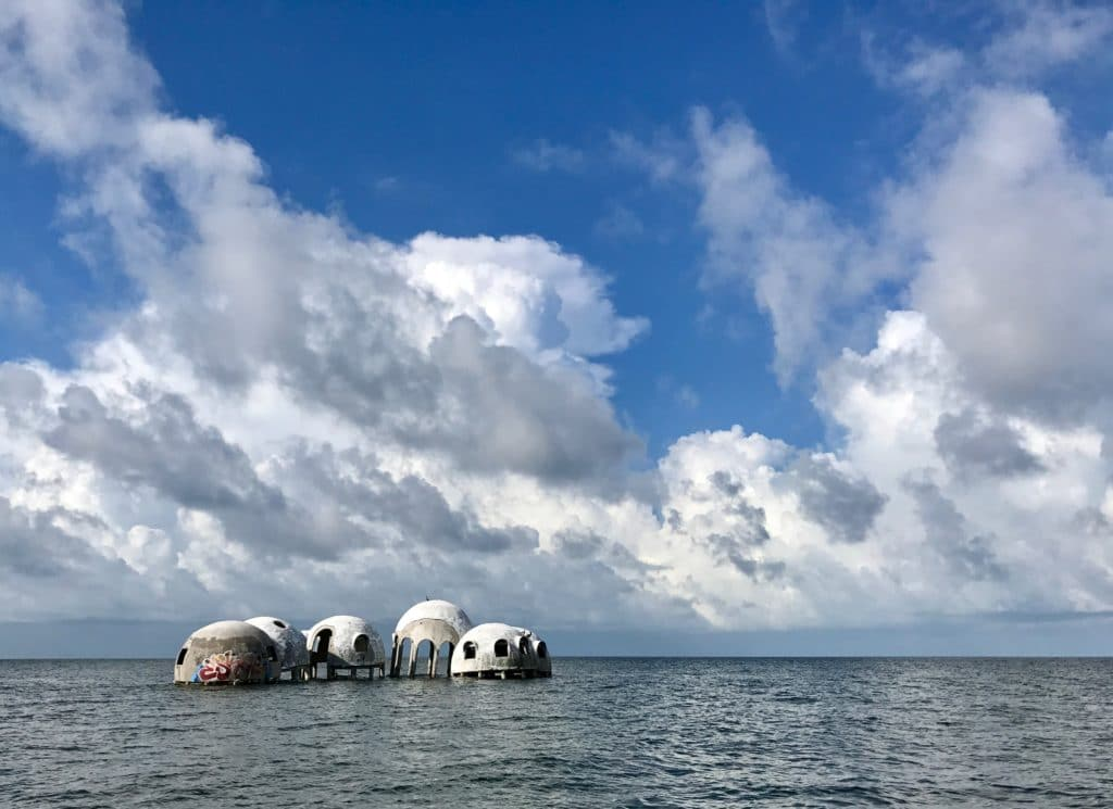 Dome Houses on cape Romano island