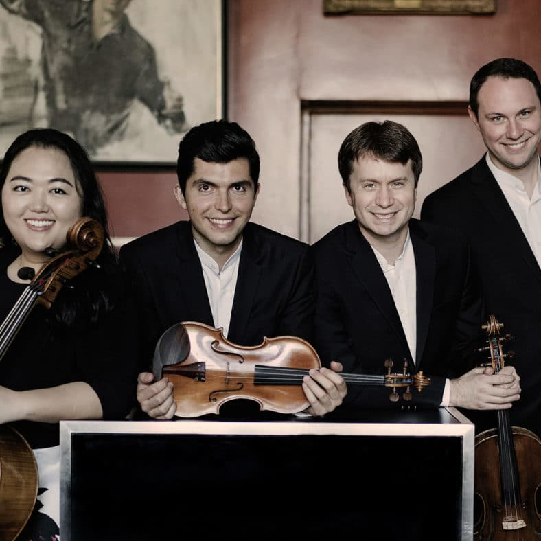 Calidore string Quartett Photo: Marco Borggreve