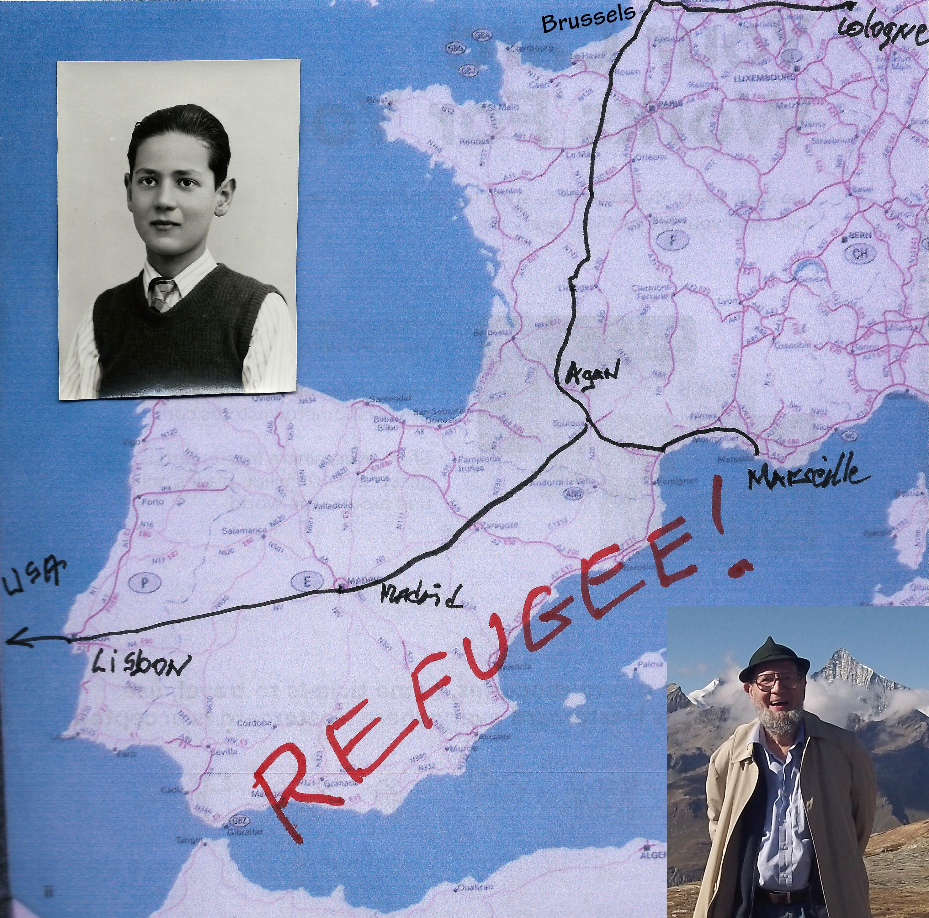 Walter Blass Refugeemap