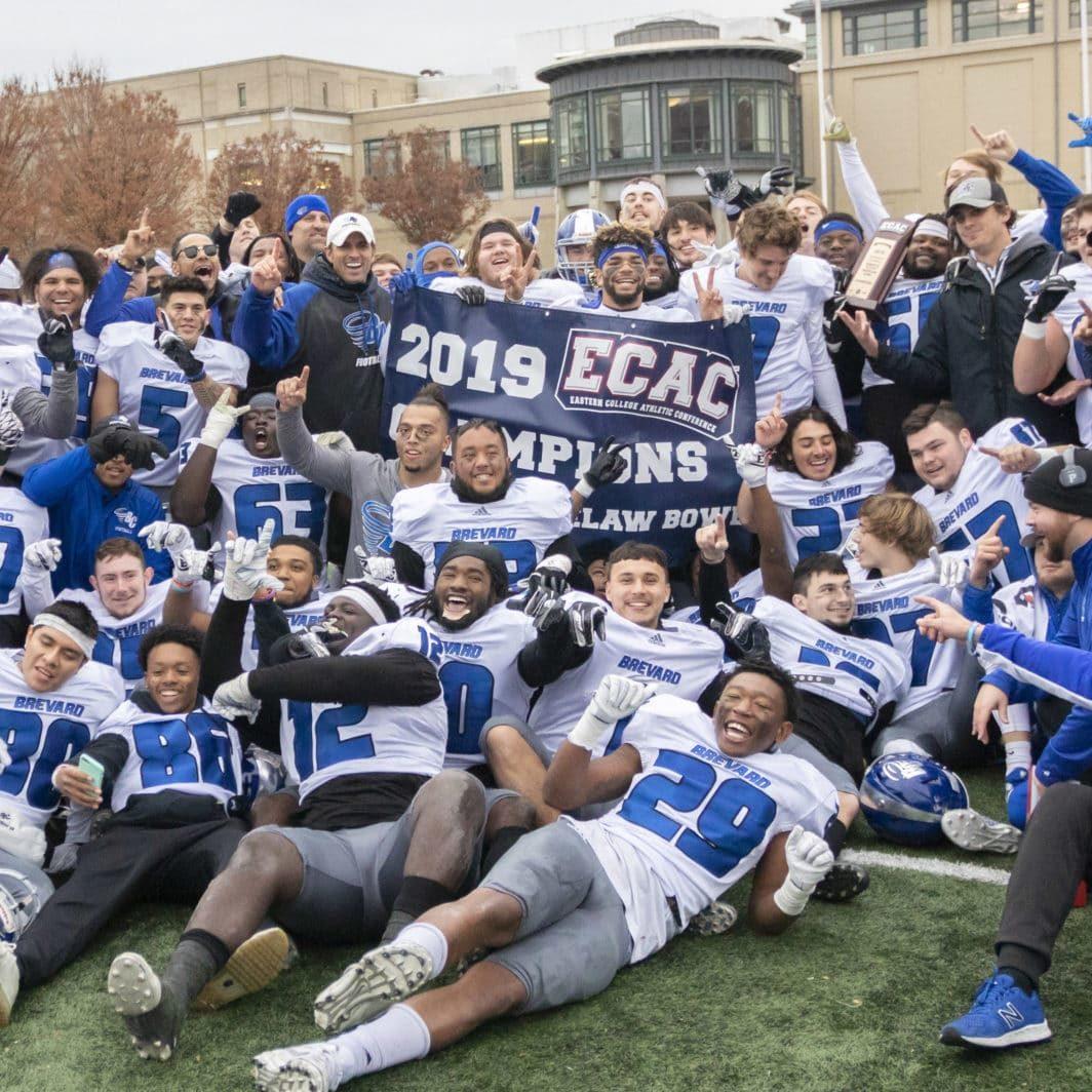 Brevard College Football ECAC Scotty Whitelaw Bowl Champions (1)