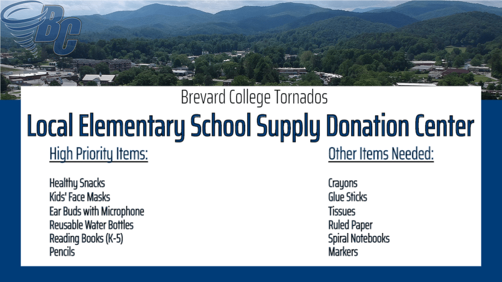 School Supply Donation Center Graphic