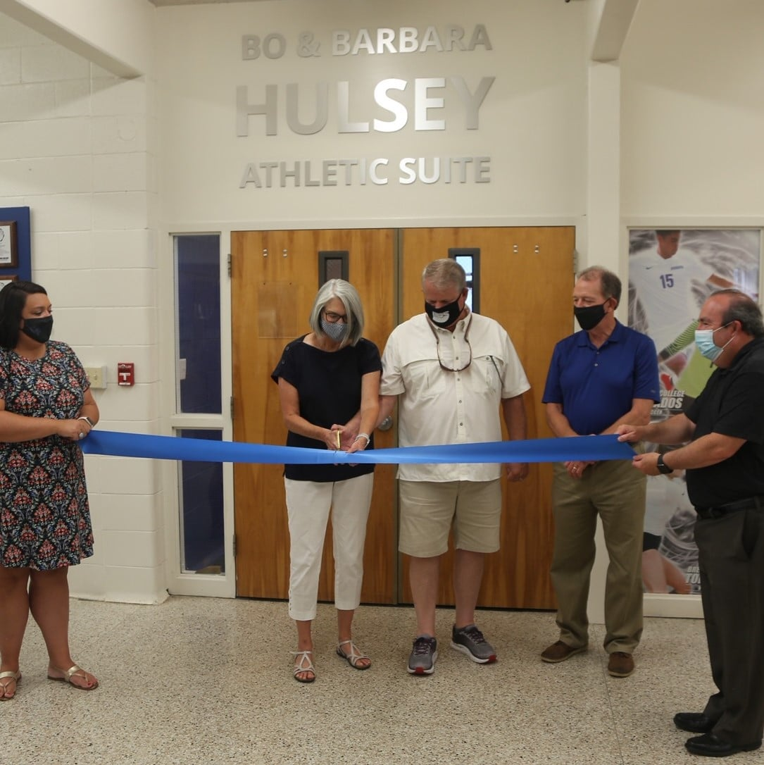 Photo 1 BC Athletic Suite Ribbon Cutting
