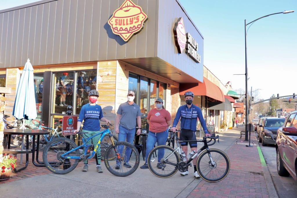 Cycling at Sully's