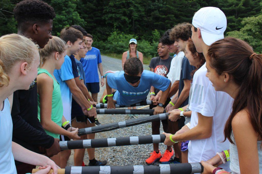 Brevard Distance Runners Camp Activity