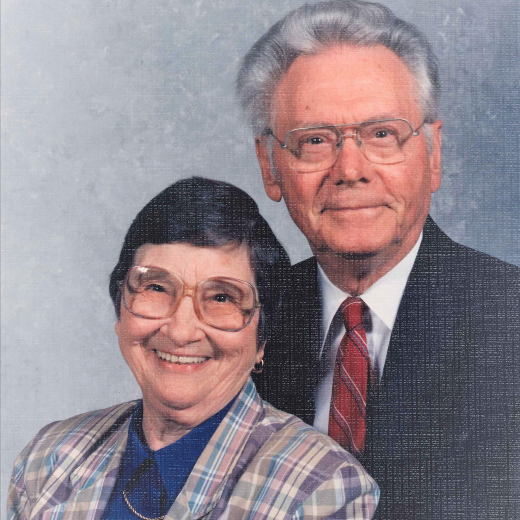 Rev. Dr. Ed Roy and Mrs. Grace Munro Roy